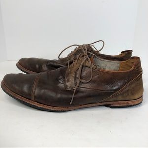 Timberland Boot Mens Brown Distressed Dress Shoes
